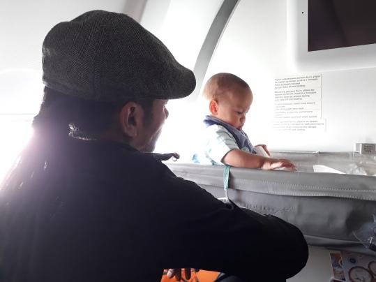 Babykrubba på fylgplanet